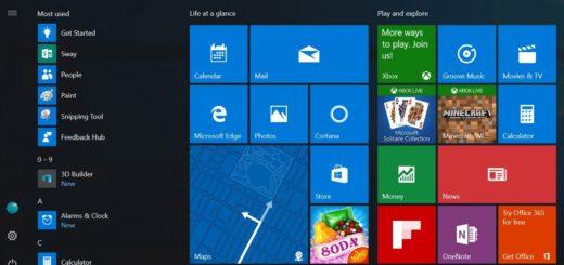 Готовится выпуск нового меню Пуск в Windows 10