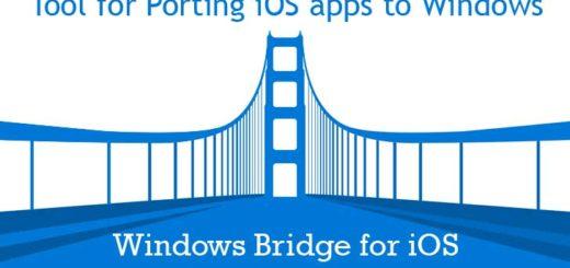 Обновление Windows Bridge для устройств iOS