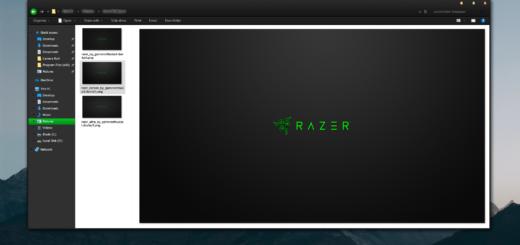 Тема The New Razer Blade на Windows 10