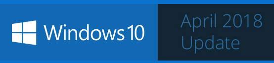 1803 Windows 10