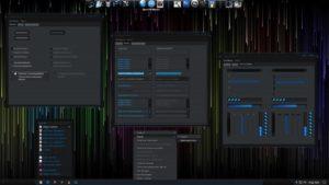 Vivify X - неоновая тема Windows 10