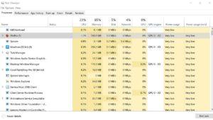 Task Manager Windows 10