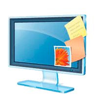 Windows Desktop Gadgets Logo